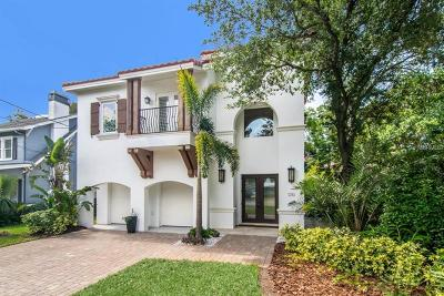 Tampa Single Family Home For Sale: 3230 W Harbor View Avenue
