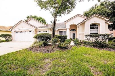 Single Family Home For Sale: 17815 Hickory Moss Place
