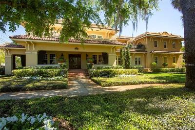 Tampa FL Single Family Home For Sale: $3,100,000