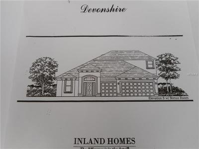 Hernando County, Hillsborough County, Pasco County, Pinellas County Single Family Home For Sale: 27065 Sora Boulevard