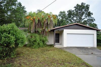 Tarpon Springs Single Family Home For Sale: 2440 Keystone Road