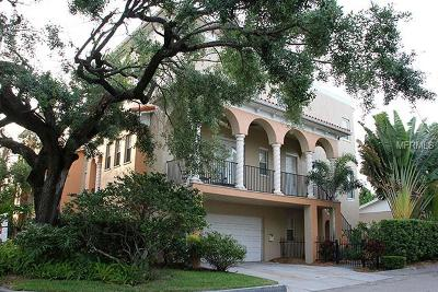Tampa Townhouse For Sale: 2208 W Horatio Street