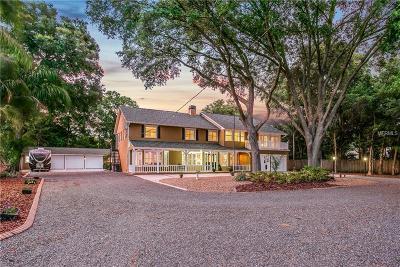 Lutz Single Family Home For Sale: 17120 Estes Road