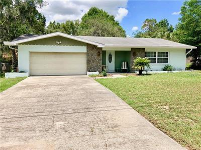 Dade City Single Family Home For Sale: 37451 Layton Road