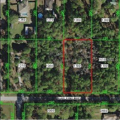 Wesley Chapel Residential Lots & Land For Sale: Lot 119 Blackhawk