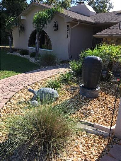 Weeki Wachee Single Family Home For Sale: 8235 Delaware Drive