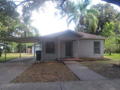 Tampa Single Family Home For Sale: 1008 E Hamilton Avenue