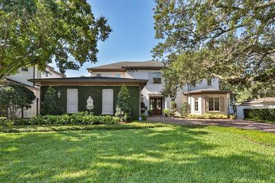 Tampa Single Family Home For Sale: 4306 W Beachway Drive