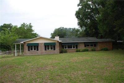 Pasco County Single Family Home For Sale: 20432 Trilby Cutoff Road