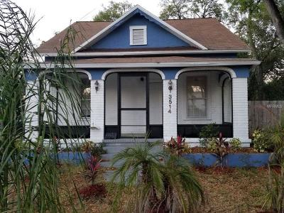Tampa Single Family Home For Sale: 3514 E 9th Avenue