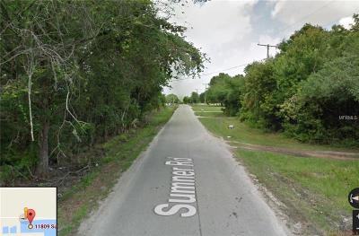 Wimauma Residential Lots & Land For Sale: 11809 Sumner Road