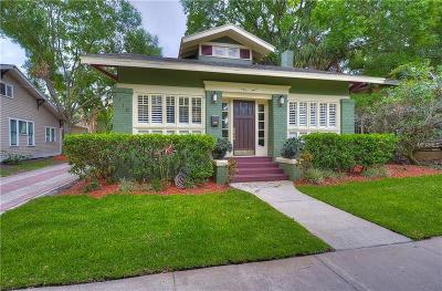 Tampa Single Family Home For Sale: 2110 W Marjory Avenue