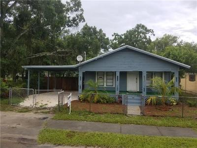 Tampa Single Family Home For Sale: 3619 E Frierson Avenue