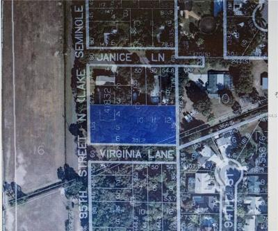 Largo Residential Lots & Land For Sale: 12317 95th Street N