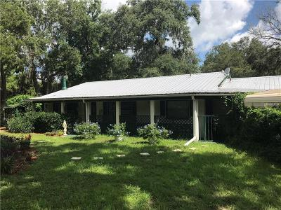Dade City Single Family Home For Sale: 5255 Olivet Drive
