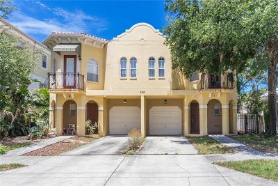 Hernando County, Hillsborough County, Pasco County, Pinellas County Townhouse For Sale: 509 S Melville Avenue #1