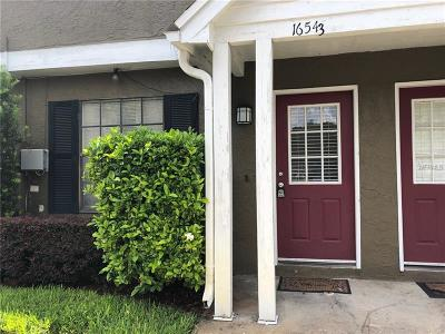 Tampa Townhouse For Sale: 16543 Lake Brigadoon Circle