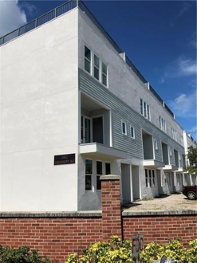 Tampa Townhouse For Sale: 2442 W Mississippi Avenue #UNIT 9