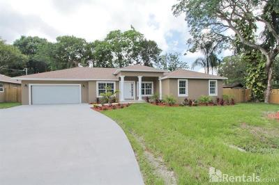 Tampa Single Family Home For Sale: 6609 Myrna Drive