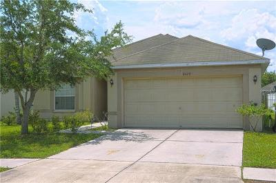Gibsonton Single Family Home For Sale: 8428 Carriage Pointe Drive