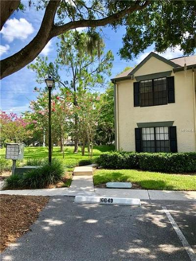 Tampa Townhouse For Sale: 16649 Brigadoon Drive