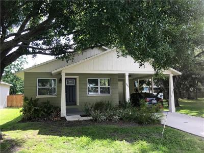 Hernando County, Hillsborough County, Pasco County, Pinellas County Single Family Home For Sale: 7511 S Shamrock Road