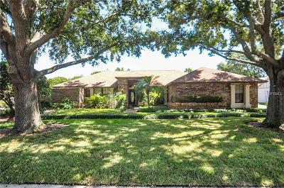 Lutz Single Family Home For Sale: 17913 Clear Lake Drive