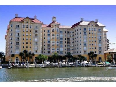 Tampa Condo For Sale: 700 S Harbour Island Boulevard #843