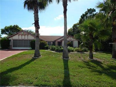 Hernando County, Hillsborough County, Pasco County, Pinellas County Single Family Home For Sale