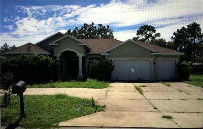 Brooksville Single Family Home For Sale: 14728 Copeland Way