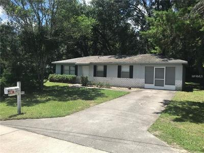 Brooksville Single Family Home For Sale: 26434 Croft Lane