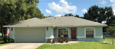 Plant City Single Family Home For Sale: 2426 Branchwood Road
