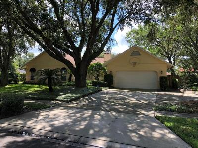 Lutz Single Family Home For Sale: 18240 Clear Lake Drive