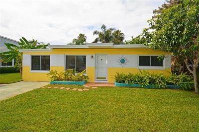 Redington Shores Single Family Home For Sale: 675 182nd Avenue E