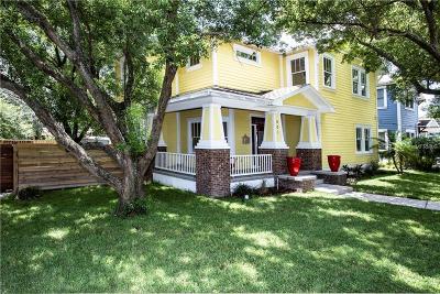 Single Family Home For Sale: 501 E Comanche Avenue