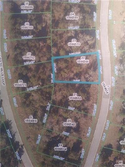 Residential Lots & Land For Sale: 4568 Majestic Hills Loop