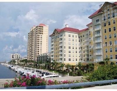 Tampa Condo For Sale: 700 S Harbour Island Boulevard #110