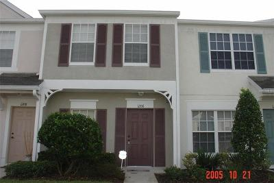 Wesley Chapel Townhouse For Sale: 1206 Kennewick Court