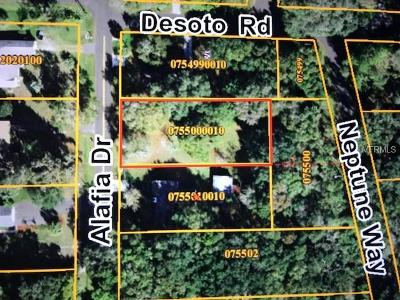 Riverview Residential Lots & Land For Sale: Alafia Drive