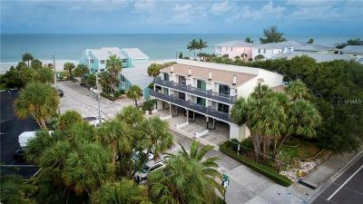 Indian Rocks Beach Townhouse For Sale: 2700 Gulf Boulevard #3