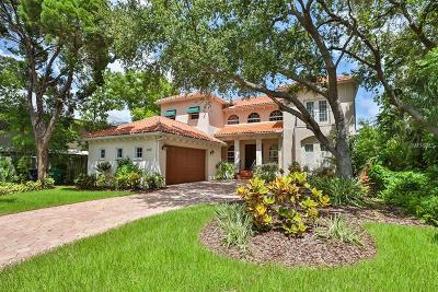 Single Family Home For Sale: 6534 Bayshore Boulevard