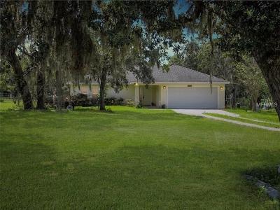 Hudson FL Single Family Home For Sale: $240,000