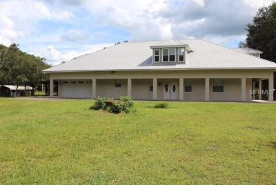 Plant City Single Family Home For Sale: 5421 Kelly Road