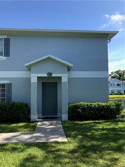 Tampa Townhouse For Sale: 7353 E Bank Drive