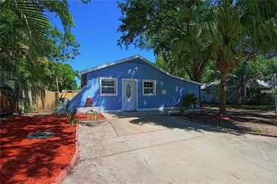 St Petersburg Single Family Home For Sale: 845 13th Avenue N