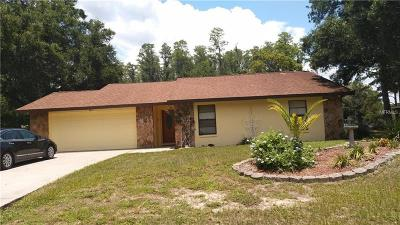 Land O Lakes Single Family Home For Sale: 23439 Sierra Rd.