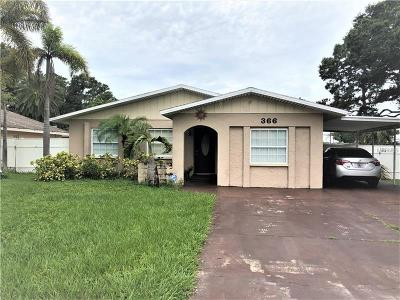 Largo Single Family Home For Sale: 366 Plumosa Drive