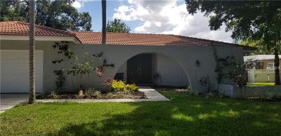 Clearwater Single Family Home For Sale: 2677 N Clubhouse Drive N