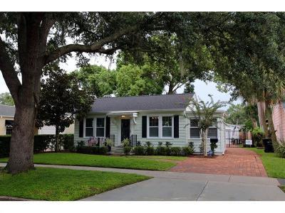 Orlando Single Family Home For Sale: 1029 W Yale Street