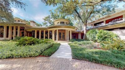 Tampa FL Single Family Home For Sale: $9,950,000